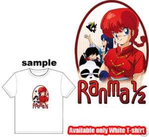 Ranma 1/2 manga Animation Kid Child Boy Girl T Shirt