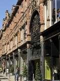 Queen Victoria Street and the Facade of Cross Arcade, Leeds, West