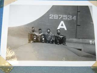 WWII USAF US Air Force Pilot Squadron Bomber Nose Art Airplane B 17