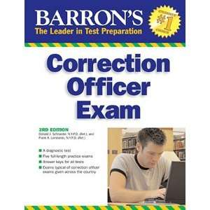 Barrons Correction Officer Exam [BARRON CORRECTION OFFICER E 3E