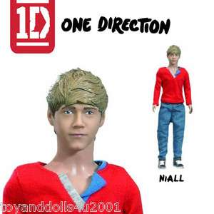 1D Niall Horan Barbie Doll Hasbro 12  British Boy Band dolls