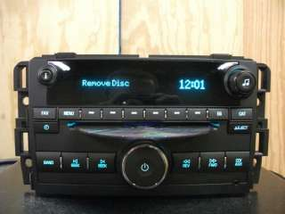 GMC Acadia Buick Enclave factory CD player radio aux 07 08 09 10 11