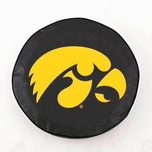 Iowa Hawkeyes Black Tire Cover, Small
