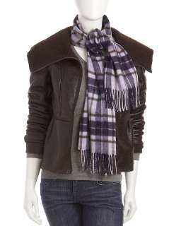 Romeo & Juliet Couture Faux Shearling Jacket, Brown