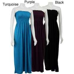 Nicewear Womens Smocked Top Maxi Dress  Overstock