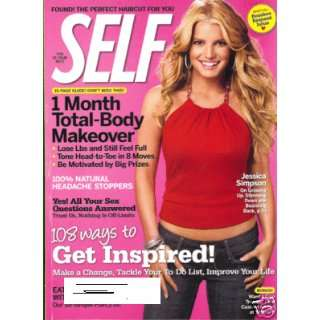 Self Magazine September 2007 Jessica Simpson Books
