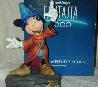Gallery Fantasia 2000 Mickey Mouse Sorcerers Apprentice Figurine NIB