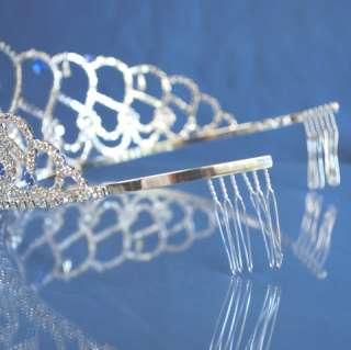 Quinceanera 15 Birthday Tiara Crystal Princess 3418F7