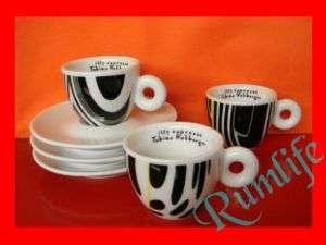 COFFEE ESPRESSO CUPS REHBERGER ILLY ESPRESSO