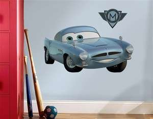 NEW Disney Cars 2 Finn McMissile Giant Wall Decal Sticker RMK1752GM
