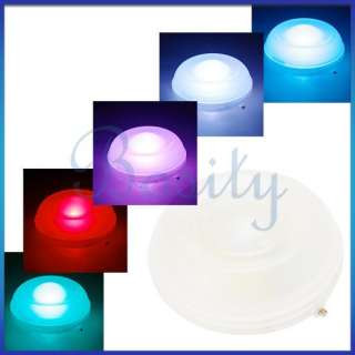Changing Floating Round Underwater LED Light Show Swimming Pool Pond