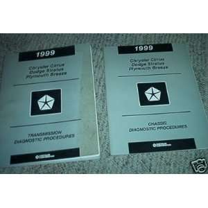 1999 Chrysler Cirrus Dodge Stratus Service Manual Set