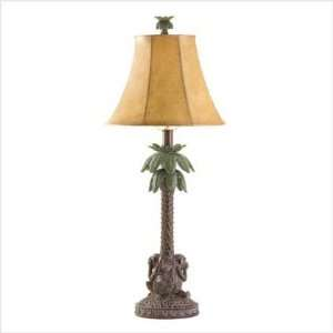 Fashionable Designed By Elite Tropical Palm Tree Lamp