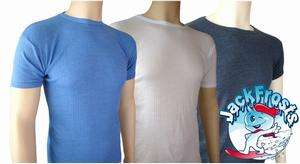 Mens Thermal Short Sleeve T Shirt / Vest Warm Underwear FREE UK P&P