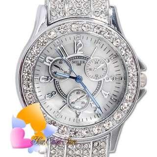 Elegant Crystal Lady Jewelery Decorated Women Watch NEW