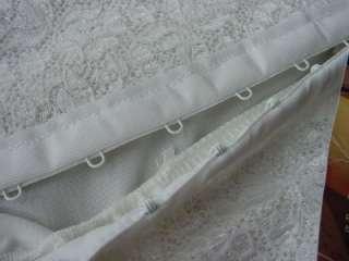 NEW 80s open bottom mini skirt GIRDLE w long garters foundation M hook