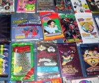 VINTAGE LOT ASSORTED NON SPORTS CARDS (29) PACKS (300) CARDS ALL