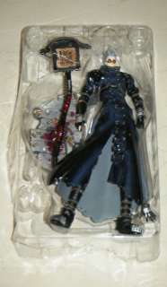 STAMPEDE TRIGUN PLANET GUNSMOKE Poseable Action Figure + Accessories