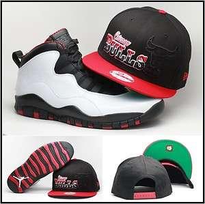 New Era Chicago Bulls Snapback Hat To Match The Air Jordan Retro 10
