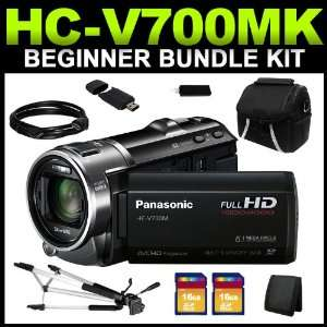 Panasonic HC V700MK (Black & Silver) 1/2.33 MOS 3.0 LCD