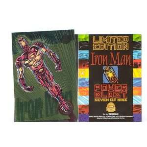Iron Man Card. Marvel Universe 1994 Chase Card