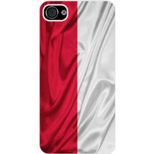 Rikki KnightTM Monaco Flag White Hard Case Cover for Apple