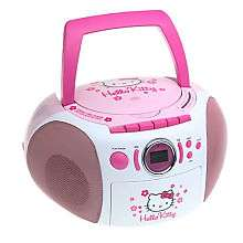 Hello Kitty Stereo CD Boombox   Spectra Merchandisin