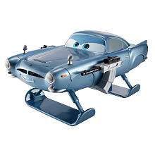 Disney Pixar Cars 2 Cars Gear Up n Go Finn McMissile   Mattel