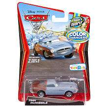 Exclusive Disney Pixar Cars 2 Color Change Vehicle   Finn McMissile