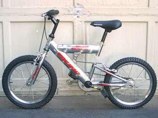 Pacific Carnivore Bicycle Mountain Bike 16 Inch Wheel + Go Biking With