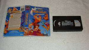 Walt Disney Masterpiece Hercules VHS Clam Shell Case