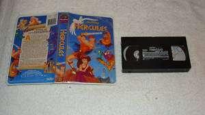 Walt Disney Masterpiece Hercules VHS Clam Shell Case