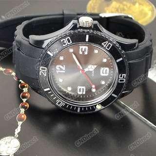 New 5 Color New Fashion Silicone Quartz Jelly Watch Popular Design