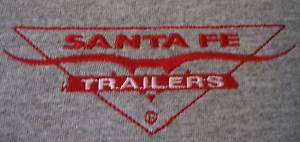 Santa Fe Vintage Travel Trailer T shirt