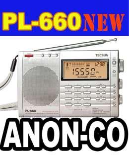 TECSUN PL660 S SSB/ AIR BD / DUAL CONV/ MULT BAND RADIO