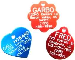 10 Tags Bulk Discount Shelter Rescue Dog & Pet ID Tag