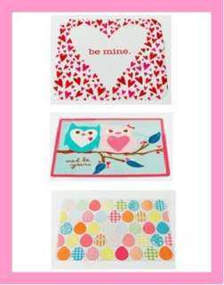 Valentines Day OR Easter Vinyl Placemats 3 Styles U Pick Hearts Owls