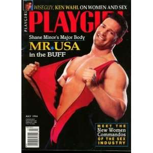 Playgirl Magazine, issue dated July 1994: MR. USA in the