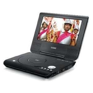 NEW Coby Portable Laptop DVD Player 7 Screen PAL/NTSC 716829907092