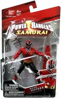 Power Rangers Samurai Mega Ranger Fire Red Ranger Bandai Action Figure