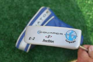 TOUR EDGE EQUATOR E 2 TUNGSTEN PUTTER R/H H/C