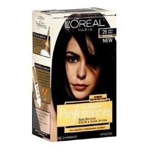 com Loreal Superior Preference #2B (Natural) Purest Black Kit Beauty