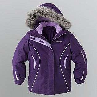 Girls 7 16 Faux Fur Hooded System Jacket  Zero Xposur Clothing Girls