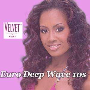 OUTRE VELVET Remi Euro deep wave 10s 100% human hair weaving