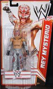 REY MYSTERIO WWE MATTEL BASIC SERIES 17 ACTION FIGURE TOY