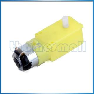 DC Gear Motor Speed Reducer for Smart Car / Robot High Quality