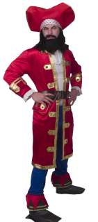 CAPTAIN MORGAN RUM RUNNER COSTUME ADULT X LARGE *NEW*
