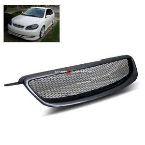 03 08 Toyota Corolla Sport Grill   Carbon Fiber Painted Automotive