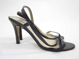 MICHAEL KORS Black Strappy Heels Sandals Shoes Sz 7.5