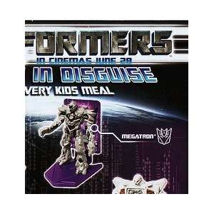 Kids Meal Transformers Movie Megatron Figure Toy 2007: Toys & Games